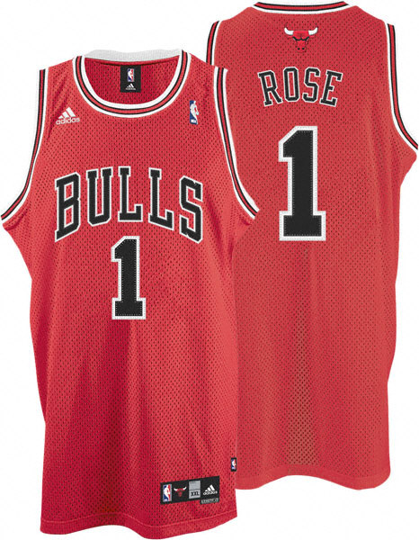 Bulls- Rose-Red Jersey