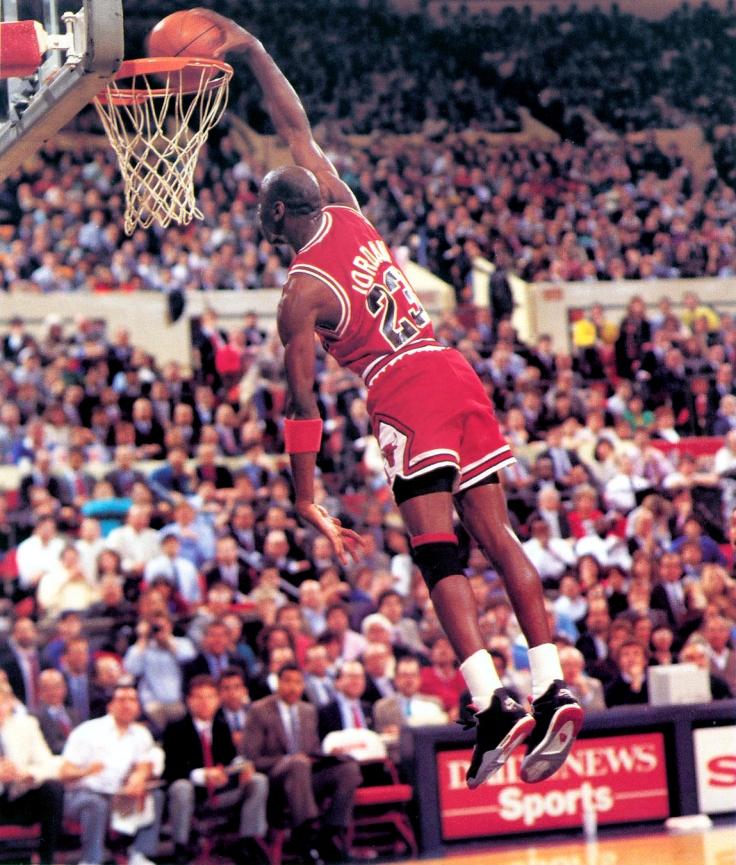 Michael Jordan Tomahawk Dunk