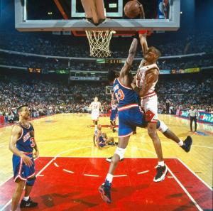 Pippen Over Ewing