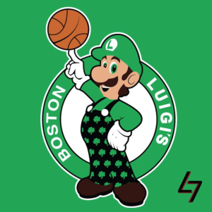 Boston Celtics + Luigi