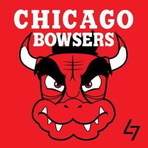 Chicago Bulls + Bowser: inspirado no vilão chifrudo do Super Mario.