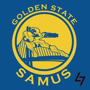Golden State Warriors + Samus (Super Metroid)