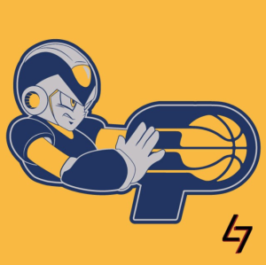 Indiana Pacers + Megaman