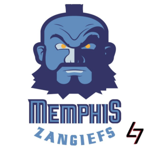 Memphis Grizzlies + Zangief (Street Fighter)