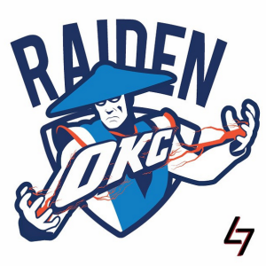 Oklahoma City Thunder + Raiden (Mortal Kombat)