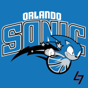 Orlando Magic + Sonic (Sonic The Hedgedog)