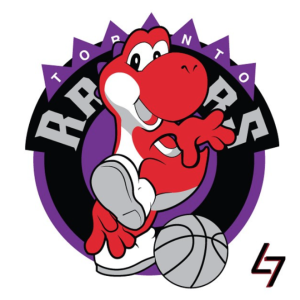 Toronto Raptors + Yoshi (Super Mario World)