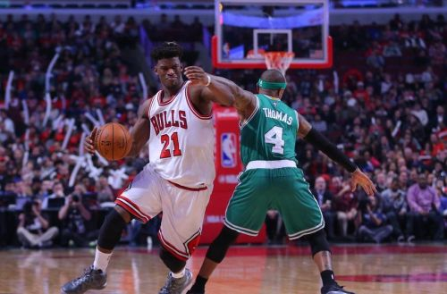 NBA: Boston Celtics at Chicago Bulls